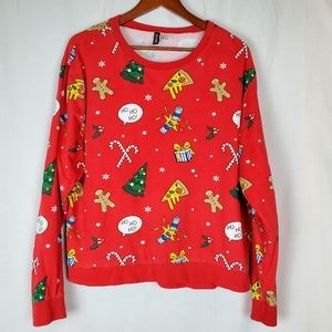DIVIDED  XL sweatshirt Christmas ugly sweater